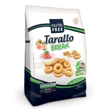 "Сушки ""Tarallo break"" NutriFree, 240 г. (8*30) — Диета-Маркет"
